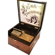 Troubadour Disc Music Box