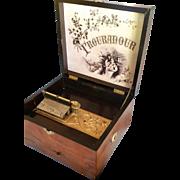 Troubadour Disc Music Box