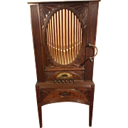 English Domestic Chamber Barrel Organ