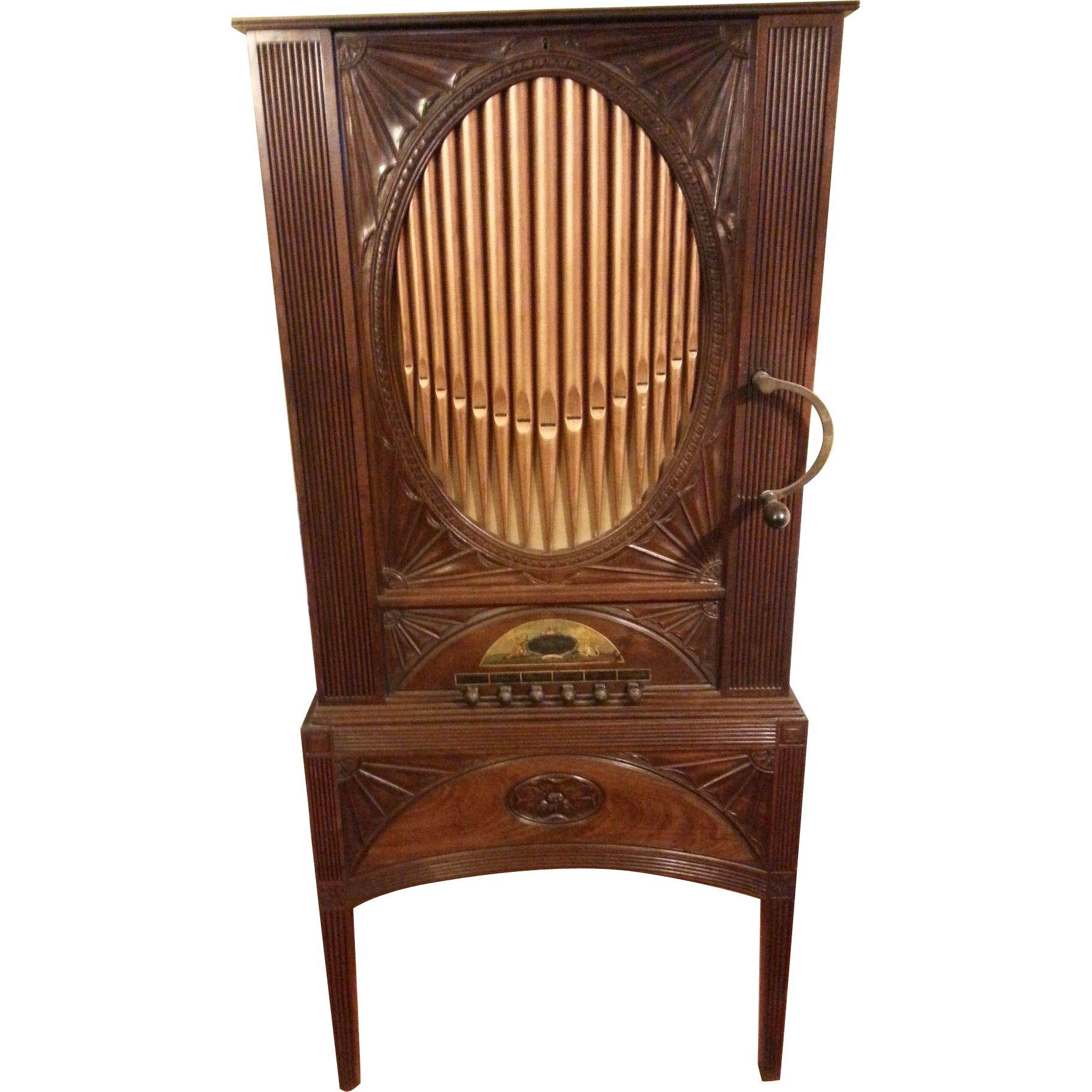 English Domestic Chamber Barrel Organ