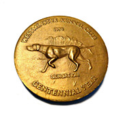 Westminster Kennel Club 100th Anniversary Medal