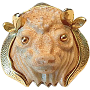 Razza Taurus the Bull Zodiac Pin