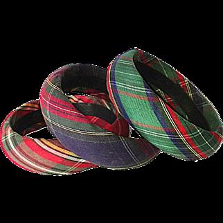 Tartan Plaid Bracelets (Reserved for Frances)