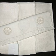 Four Piece Victorian Hand Show Towels  group #4