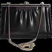 El Conte Ingles Spanish Designer Leather Handbag Clutch