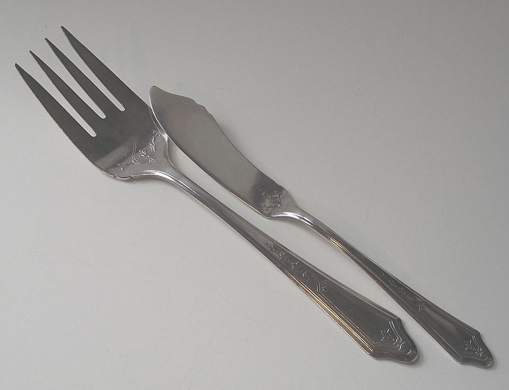 Meat Fork and Master Butter ~  Duchess Pattern