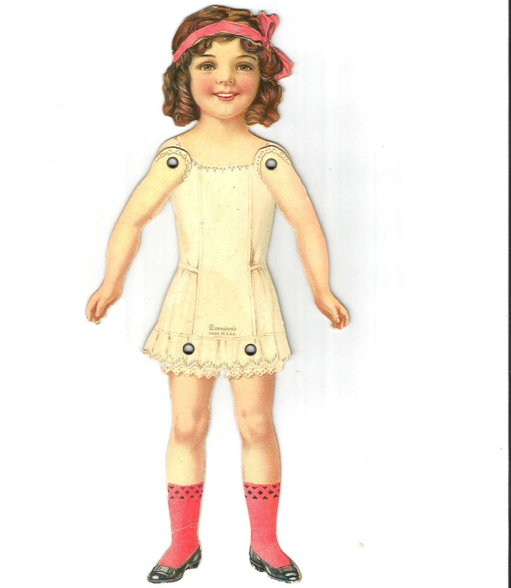 Dennison Jointed Paper Doll