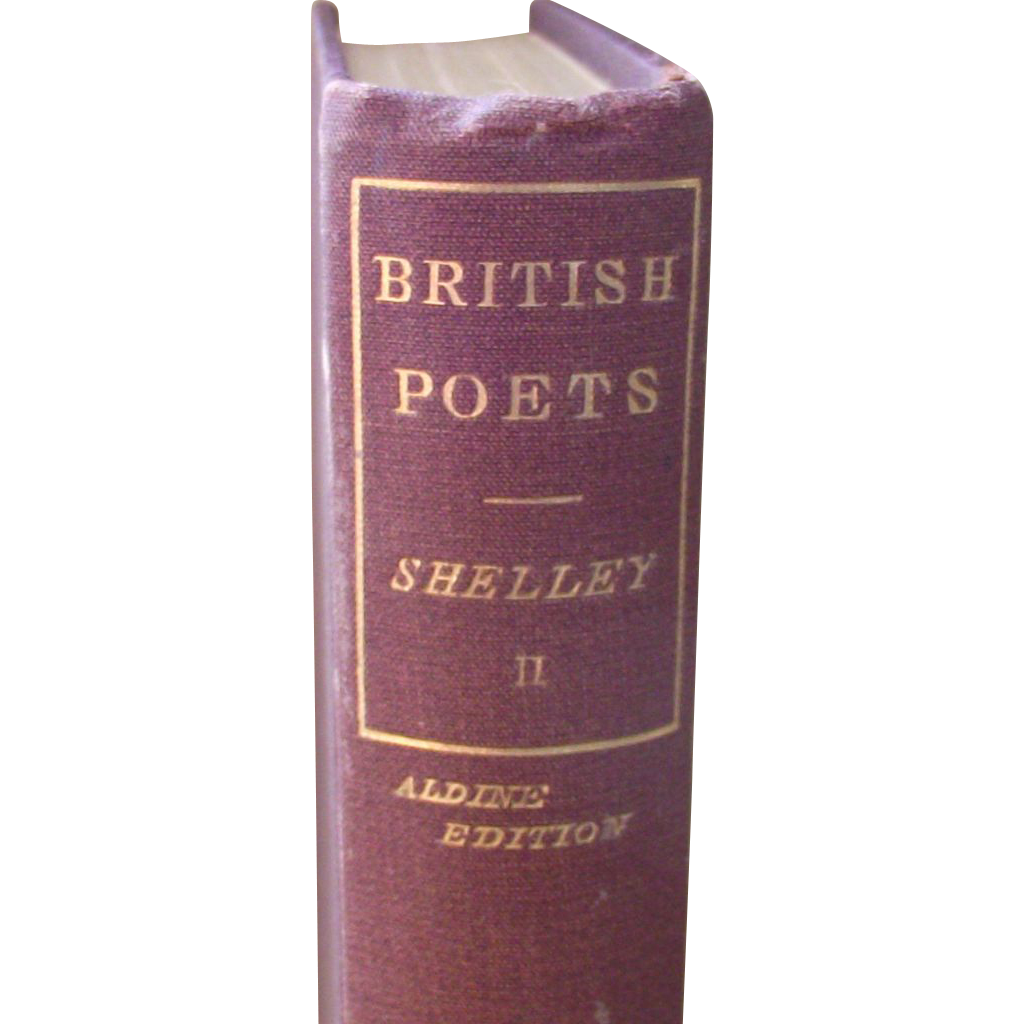 Vintage The Poetical Works of Shelley - Aldine Edition Volume II     1819
