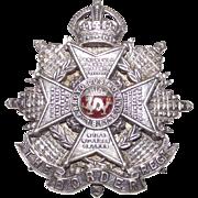Vintage Border Regent Silver Brooch   Battle of Arroyo dos Molinos
