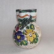 Vintage Italian Faience Vase