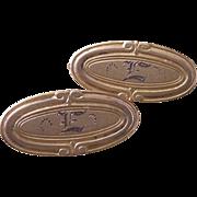Victorian Beauty Bar Pins Engraved  E