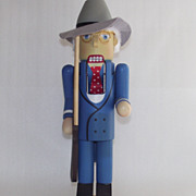 Vintage Nutcracker Harry S. Truman  1987 Nut Cracker by Roman
