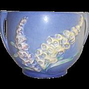 Roseville Foxglove Blue Jardinière  659-4