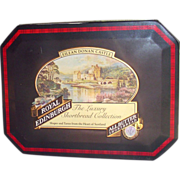 Eilean Donan Castle Scotland Tartan Biscuit Tin by Royal Edinburgh
