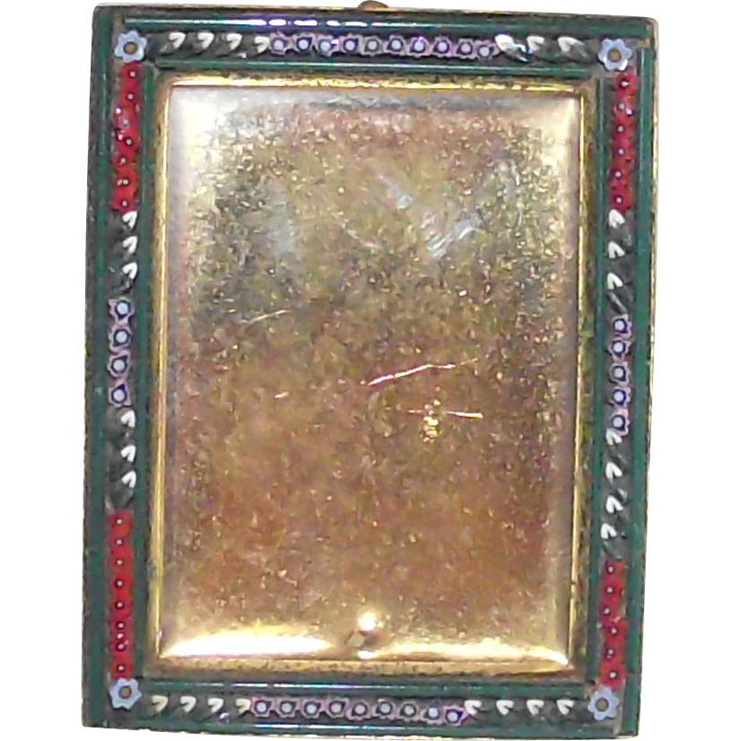 Micro Mosaic Small Rectangular Picture Frame
