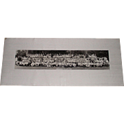SOLD Yale University Alcohol Studies Summer School 1958 Yard Long Class Photo ITEM IS SOLD