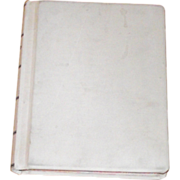 Large Vintage Court - Judges - Law -Legal Record Book Unused