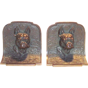French Bull Dog Bronze Bookends
