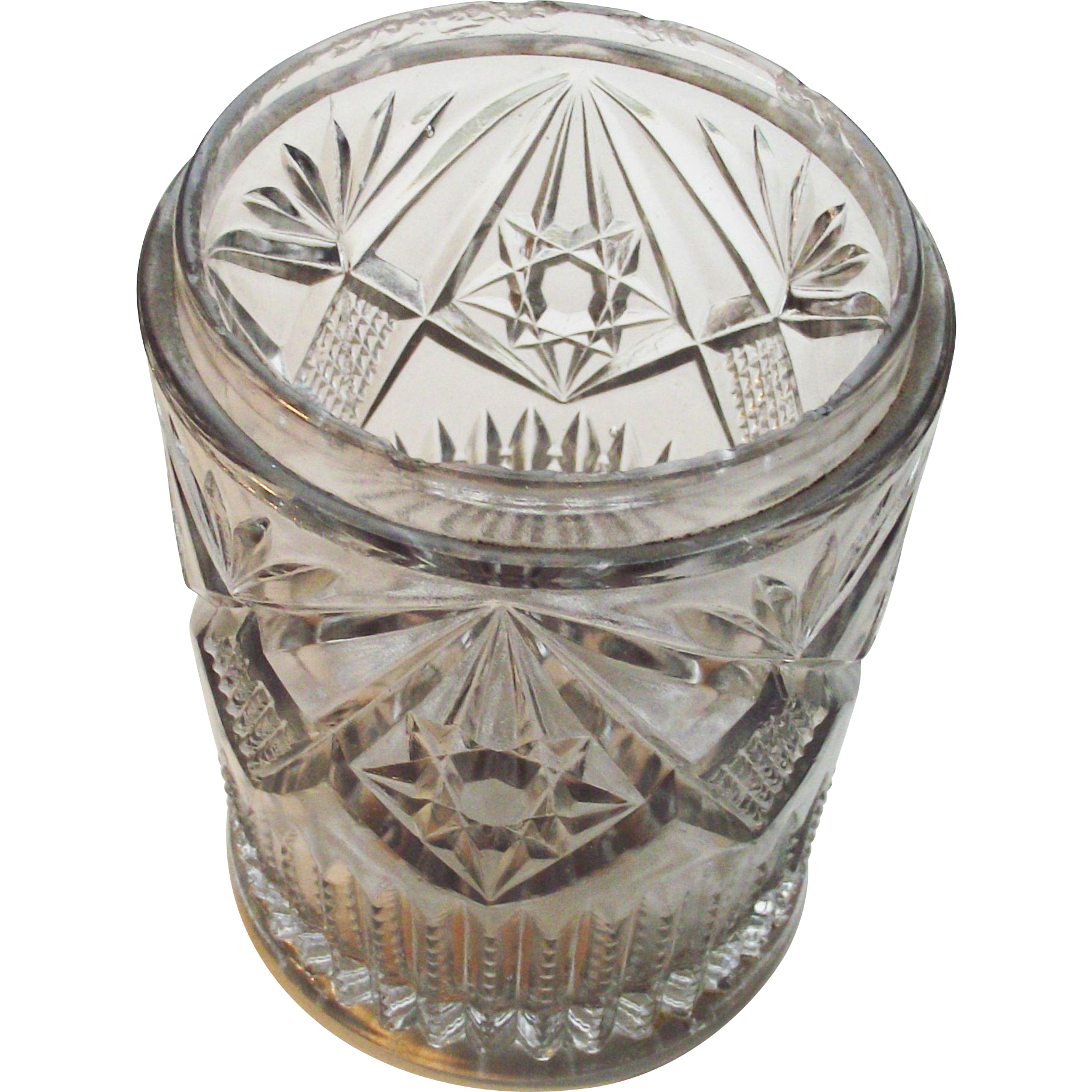Victorian EAPG Pickle Castor Glass Insert