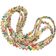 Vintage Gum Wrapper Chain 8 and One Half Feet Long