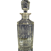 Vintage Dresser Decanter for Perfumes or Oils
