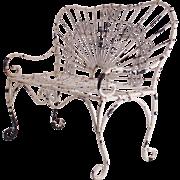 Vintage Wire Doll Garden Settee