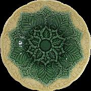 Vintage Wedgewood Cauliflower Majolica Plate 9 Inch