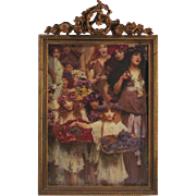 Victorian Era Table Picture Frame