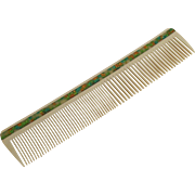 Vintage Art Deco Era Celluloid Hair Comb