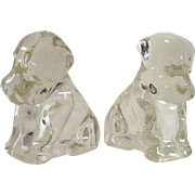 "Federal Glass ""Mopey Dog"" Candy Containers circa 1950's"