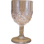 Vintage Cordial EAPG  After Dinner Wine Stem