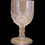 Vintage Cordial EAPG  After Dinner Wine Stem