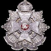 Vintage Battle of Arroyo dos Molinos Border Regent Silver English Brooch