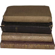 Vintage Four Piece Group Including New Testament Given to New Hampshire Soldiers by The New Hampshire Governor Before They Left for World War 1