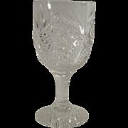 Victorian EAPG Cordial Stem or After Dinner Wine Stem