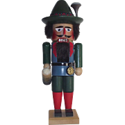 Vintage Nutcracker Steinbach Oktoberfest Male with Lowenbrau Beer Stein