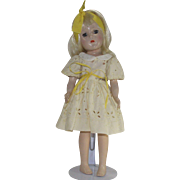 Vintage 1950s Mary Hoyer Doll with Blond Hair