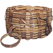 Vintage Thread Basket with Finger Loop