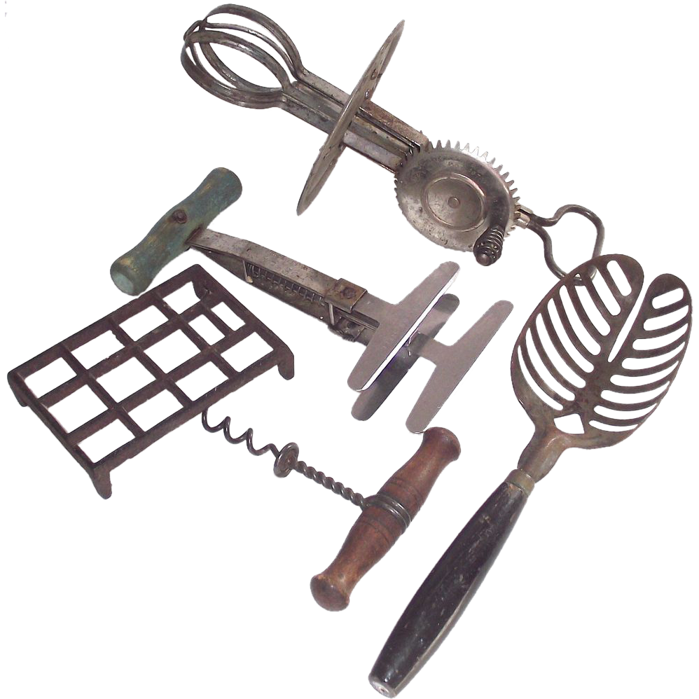 Five Piece Vintage Kitchen Tool Collection Bonnie