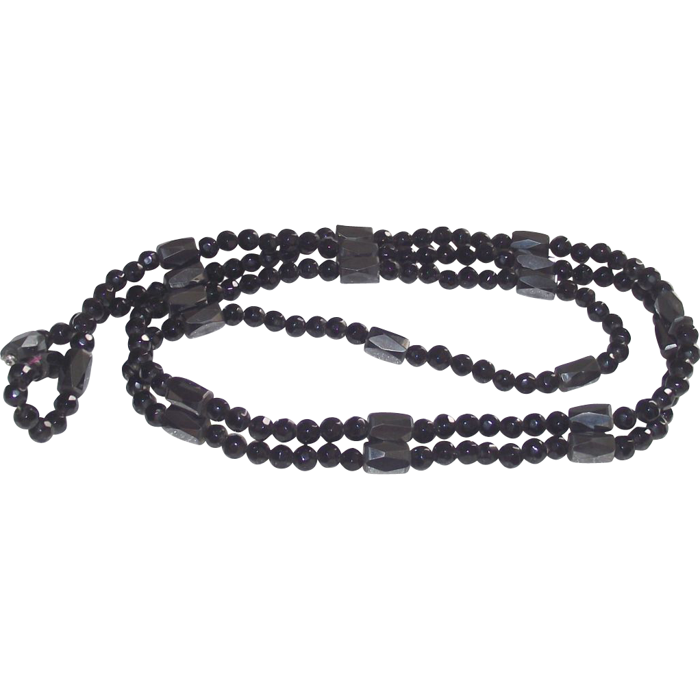 Magnetized Hematite Wrap Bracelet or Necklace