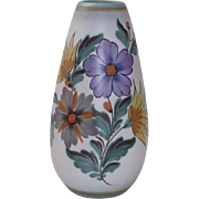 Vintage Tall Gouda Vase Fiora in the Viola Pattern