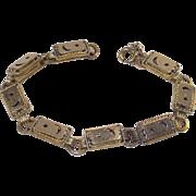 Vintage Moon and Stars Line Bracelet Circa 1900