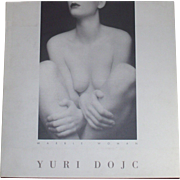 YURI DOJC Marble Woman Nude in Photography  1993