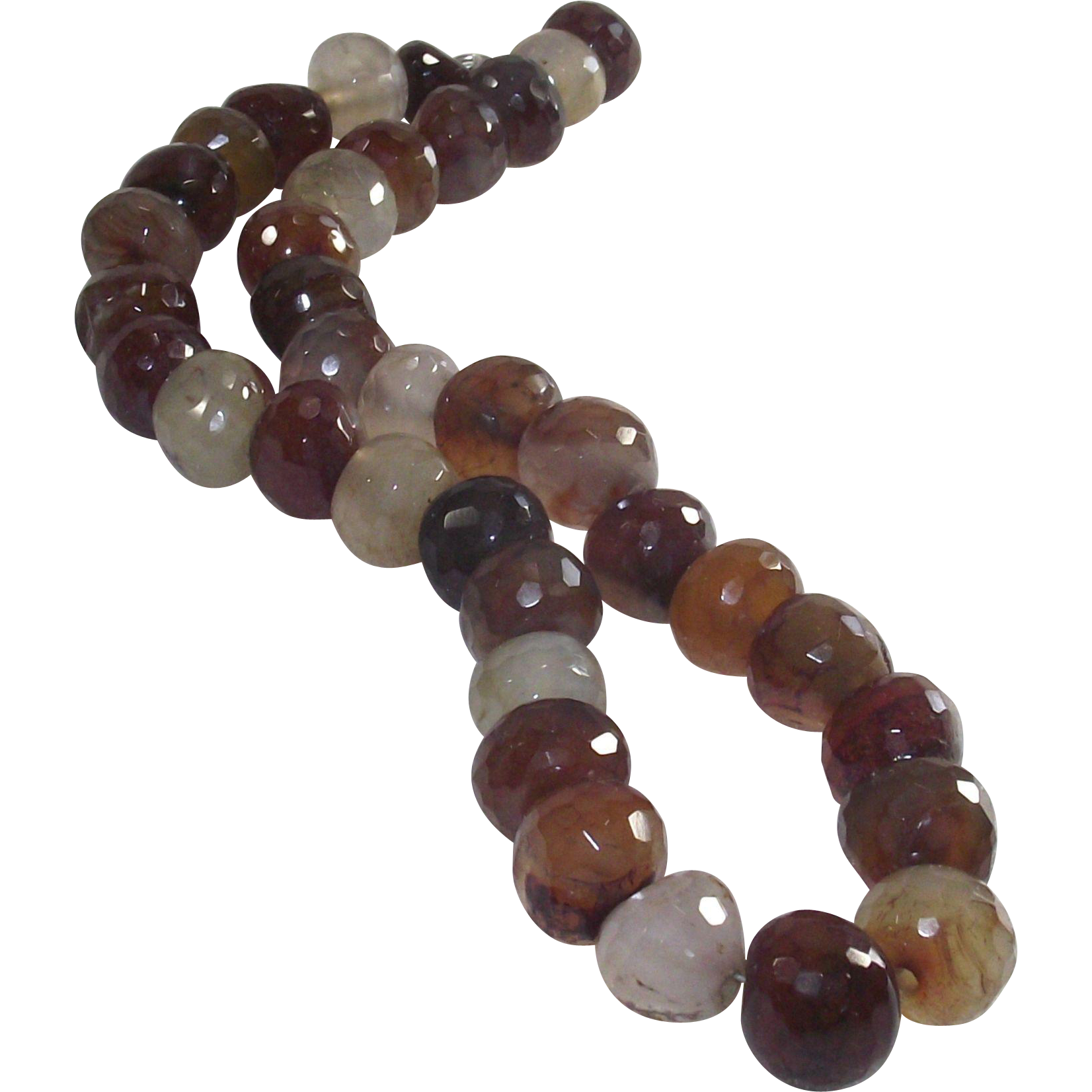 Faceted Carnelian Choker Necklace