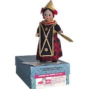 """Madame Alexander 8"""" Indonesia Doll #579 with Box"""