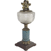 French Longway Oil Lamp