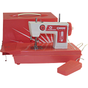 Childs Toy Sewing Machine for making Doll Clothing