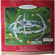 Vintage 2001 Star Trek Space Station Deep Space 9 Lights