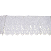 Vintage Edwardian Bridal Lace Yardage 108 Inches Long  5 Inches wide