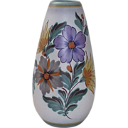 Impressive Gouda Vase Fiora in the Viola Pattern